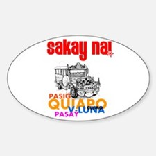Jeep My Ride Oval Decal