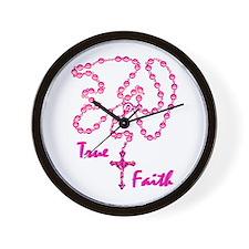 True Faith Wall Clock