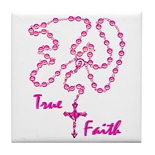 True Faith Tile Coaster