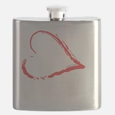 Left Hand Love Club Flask