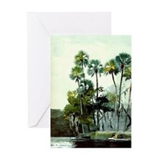 Winslow Homer - Homosassa River Greeting Card