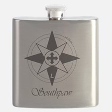 Southpaw Compass Flask