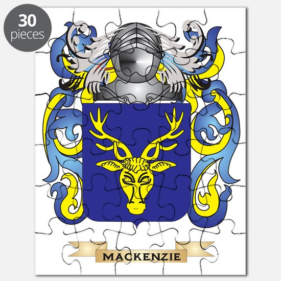 MacKenzie Coat of Arms - Family Crest Puzzle