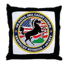 Kentucky Division Logo Throw Pillow