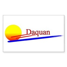 Daquan Rectangle Decal