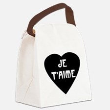 jetaime.png Canvas Lunch Bag