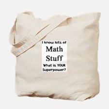 math stuff Tote Bag