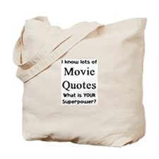 movie quotes Tote Bag