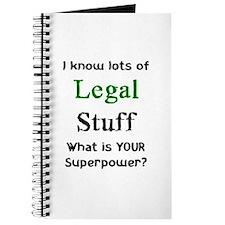 legal stuff Journal