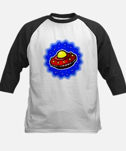 Space Invaders Kids Baseball Jersey