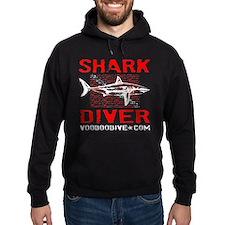 SHARK DIVER - BLACK Hoodie