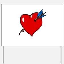 Cupid's Arrow Yard Sign
