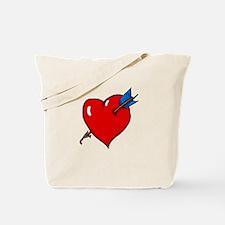 Cupid's Arrow Tote Bag