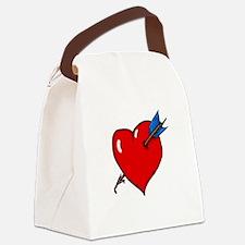 Cupid's Arrow Canvas Lunch Bag