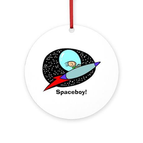 Spaceboy Ornament (Round)