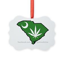 SC Medical Marijuana Movement Log Ornament