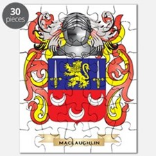 MacLaughlin Coat of Arms - Family Crest Puzzle
