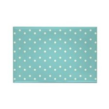 Polka Dots Rectangle Magnet (100 pack)