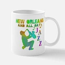 New Orleans Jazz (4) Mug