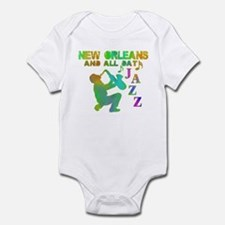 New Orleans Jazz (4) Infant Bodysuit