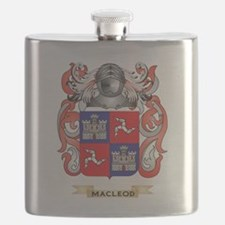 MacLeod Coat of Arms - Family Crest Flask