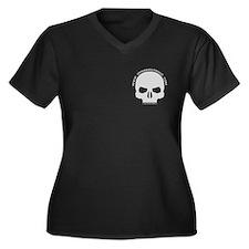 Spinward Fringe Women's Plus Size V-Neck Tshirt