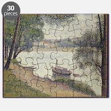 Gray weather Grande Jatte Puzzle