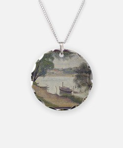 Gray weather Grande Jatte Necklace