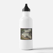 Gray weather Grande Jatte Water Bottle