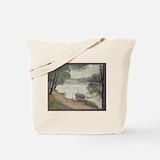 Gray weather Grande Jatte Tote Bag