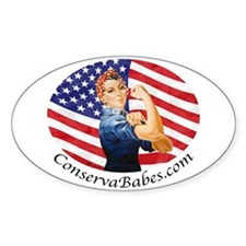 ConservaBabes Oval Decal