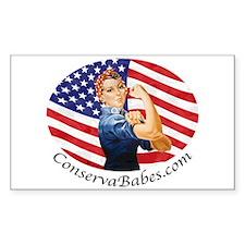 ConservaBabes Sticker (Rect.)