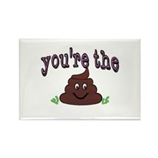 Youre the shit. Youre the poop Magnets
