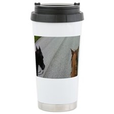 Friends Ride Together Travel Mug