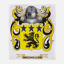 MacMillan Coat of Arms - Family Cres Throw Blanket