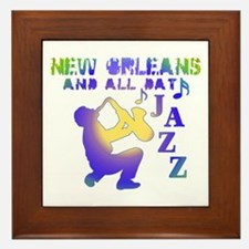 New Orleans Jazz (3) Framed Tile