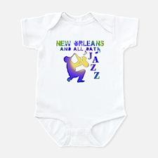 New Orleans Jazz (3) Infant Bodysuit