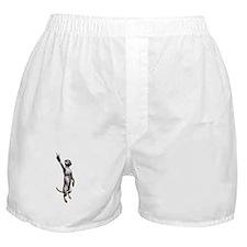 Meerkat Peace Sign Boxer Shorts