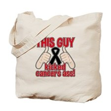 Melanoma This Guy Kicked Cancer Tote Bag