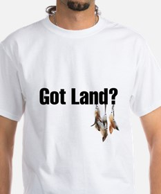 Got Land? Thank an Indian T-Shirt