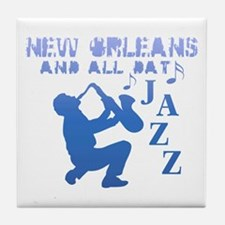 New Orleans Jazz (2) Tile Coaster
