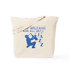 New Orleans Jazz (2) Tote Bag