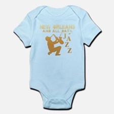 New Orleans Jazz (1) Infant Bodysuit