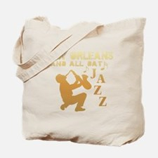 New Orleans Jazz (1) Tote Bag