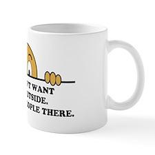 Social Phobia Humor Saying Mug