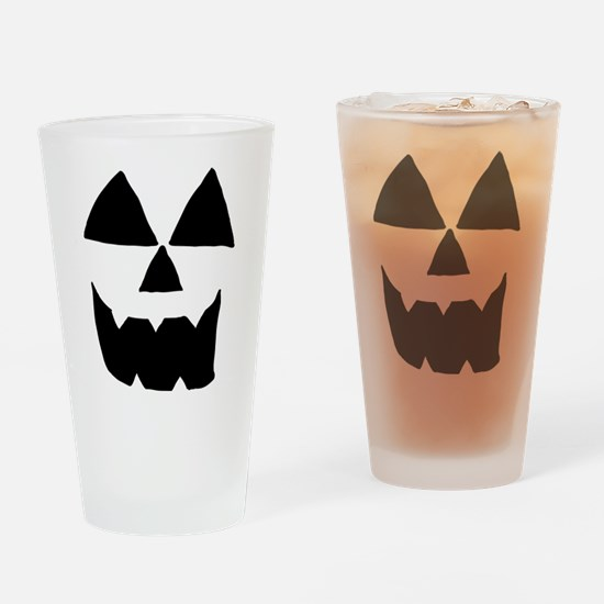 Sep 11 Jackolantern Face 1 Drinking Glass
