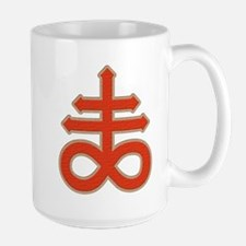 Satanic Cross Large Mug