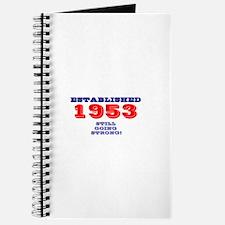 ESTABLISHED 1953- STILL GOING STRONG! Journal
