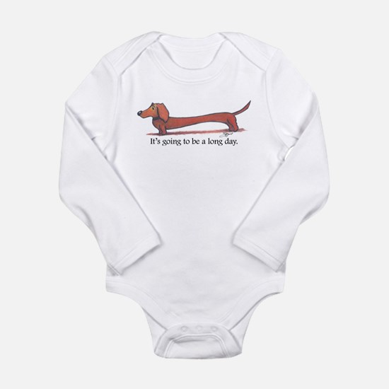 Long Day Dachshund Body Suit