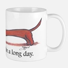 Long Day Dachshund Mugs